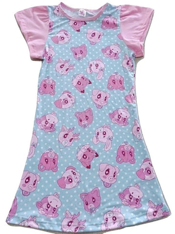 DISCONTINUED Lil Critters Night Gown Pajamas DESIGNED BY KEROKEROKOUHAI Clearance