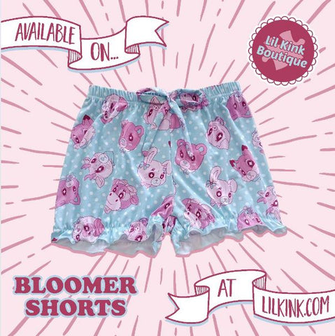 Lil Critters Bloomer Shorts Designed by kouhai kitten
