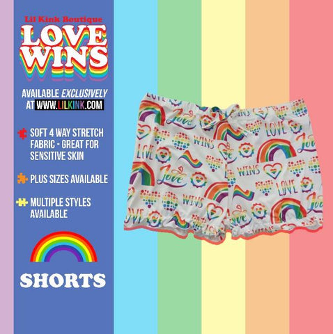 LOVE WINS Bloomers Shorts