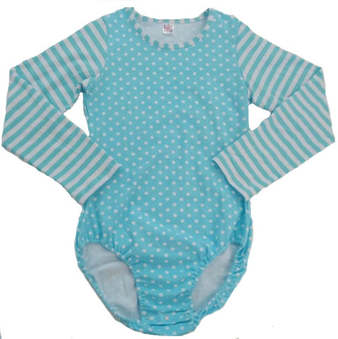 LONG SLEEVE MY SWEET BABY BLUE ONESIE - Made of Polyester