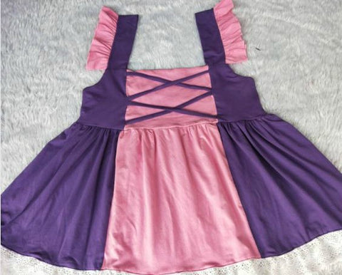 Princess Pink & Purple Summer Dress