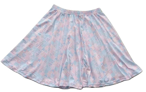 DISCONTINUED Lil Pastel Cuties Skaters Skirt Clearance xs only