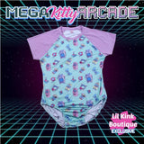 Mega Kitty Arcade Gamer Onesie