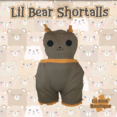 "Lil Bear ""Bubble Shortalls"" with pockets Designed by kerokerokouhai Clearance"
