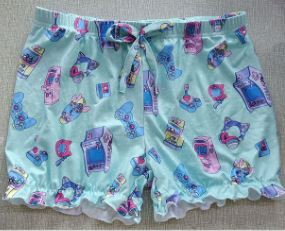 Mega Kitty Arcade Gamer Bloomers Shorts