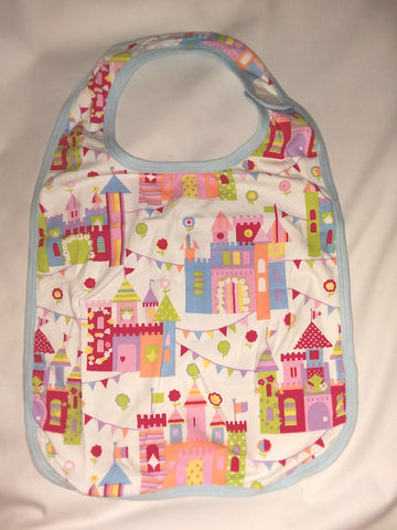 Bib Discontinued RAINBOW CASTLE Matching Bib CB116 Clearance