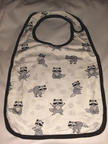 Bib DISCONTINUED LIL TRASH PANDA Matching Bib CB123 Clearance
