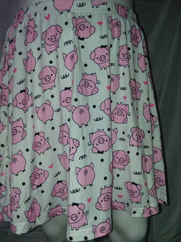 DISCONTINUED Lil Piggy Skaters Skirt Clearance s - m only