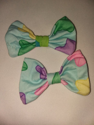 Lucky Stars Hair Bows 2pc Set FHB193 DESIGNED BY KEROKEROKOUHAI