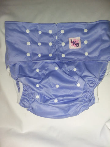 Purple Plain Pocket Diaper