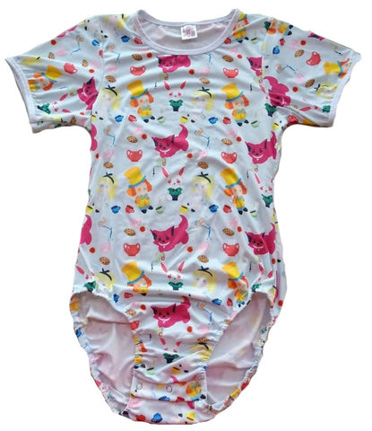 Lil Tea Party ONESIE DESIGNED BY CYAN.RED