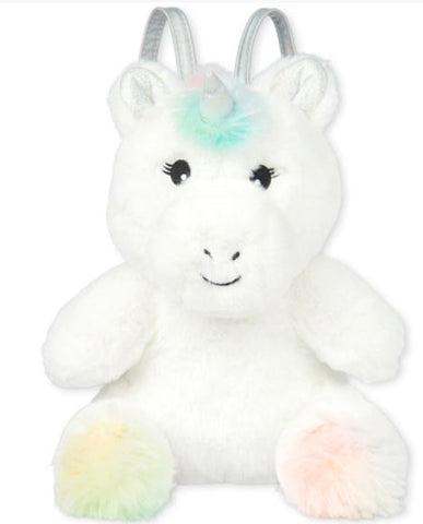 Plush Faux Fur Unicorn Bag
