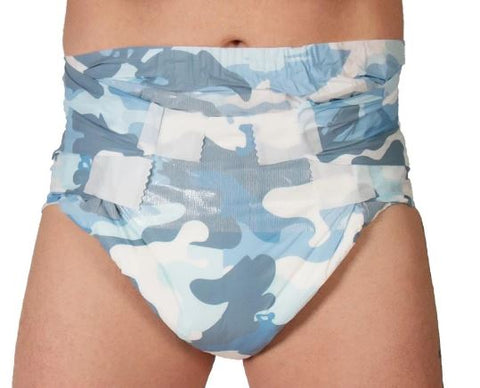 Tykables Cammies Diapers ABDL Adult Diaper -1 Single Diaper Sample
