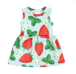 STRAWBERRY SUMMER Doll Matching Outfit Dress