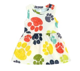 PUPPY PAWS Doll Matching Outfit Dress