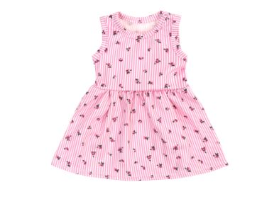 PINK FLOWER Doll Matching Outfit Dress