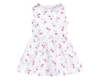 Floral Doll Matching Outfit Dress