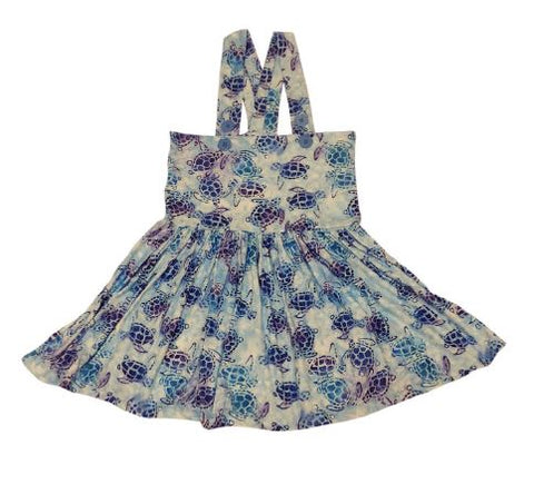 DISCONTINUED Suspender Sea Turtles Jumper Skirt Dress