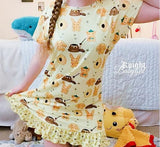 Hunny Bunny Night Gown Pajamas DESIGNED BY @CYAN.RED