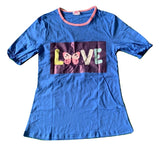 DISCONTINUED Butterfly Love Matching Top Shirt Clearance