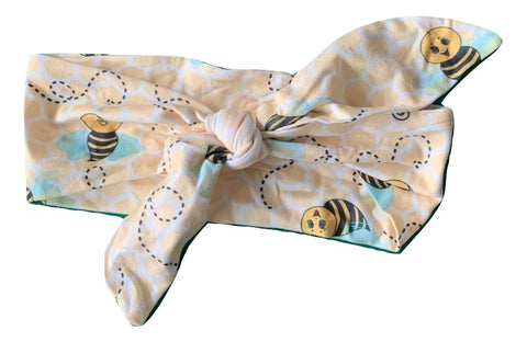 Lil Bee MATCHING Boutique Fabric Hairband Headband