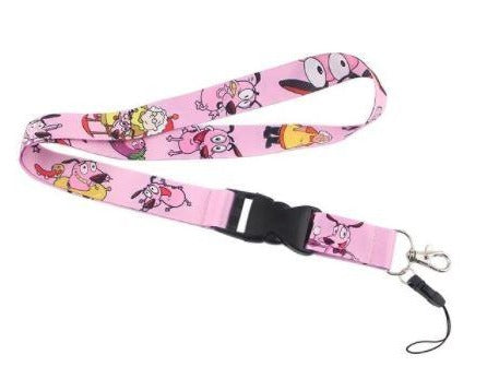 2000'S CARTOON Stupid Dog BADGE HOLDERS - LANYARDS