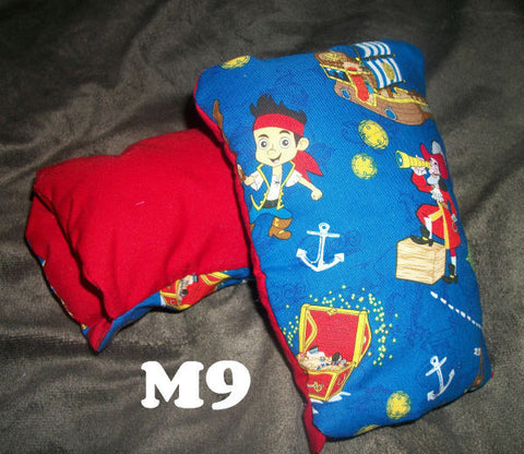 "Adult Padded Mittens M9 PIRATE 5""X8.5"""