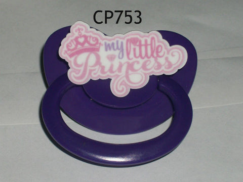 Pacifier CP753 MY LITTLE PRINCESS