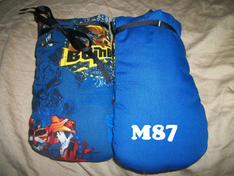 "Adult Padded Mittens M87 ROBOTS 4.75""X8.5"""
