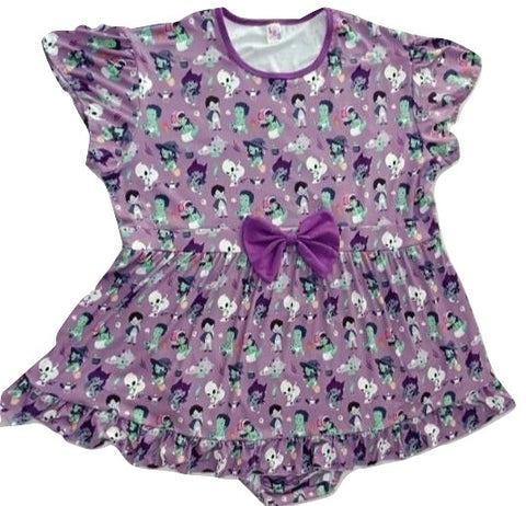 DISCONTINUED Tiny Terrors Romper Dress DESIGNED BY KEROKEROKOUHAI Clearance