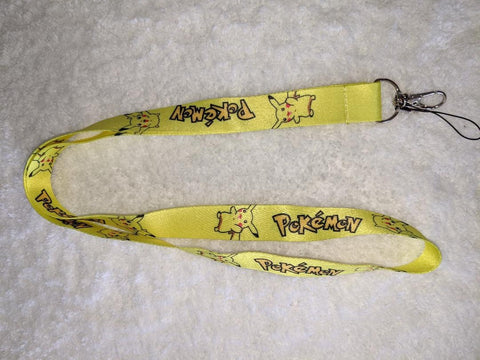 Video Game Poke badge holders - LANYARDS