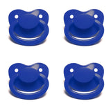 Dark Blue New Large Plain Color Adult Pacifier