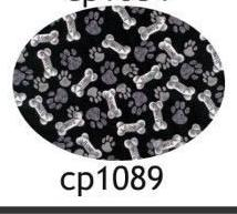 Pacifier cp1089 Paws and Bones