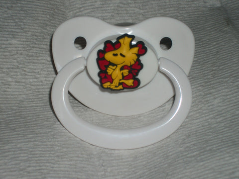 Dog White Pacifier Cartoon CP460 Bird