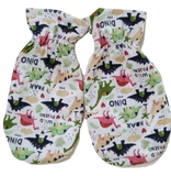 Wild Dino Friends Matching 2pc Bib Mittens Set