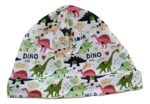 Wild Dino Friends Matching Adult Newborn Baby Hat Cap