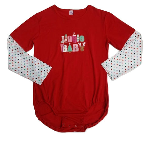 Jingle Baby Holiday Long Sleeve Onesie