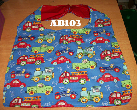 Trains & Cars Bib AB103