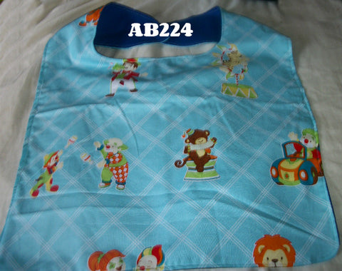 "Animals Circus Bib AB224 12""X15"""