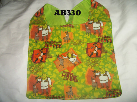 "Cartoon Movie S Ogre Bib AB330  11""X13"" Clearance"