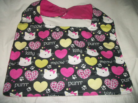 "Kitty Cat Bib AB392 10.5""X16"""