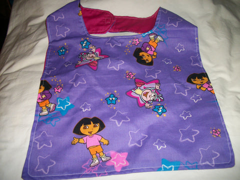 "Pre School Girl BIB AB405 12""X13"" Clearance"