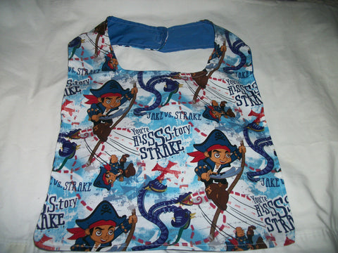 "Pre School Pirate Bib AB436 11""X12.5"" Clearance Bib"