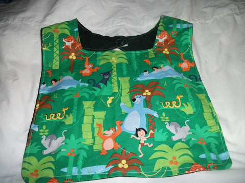 "Cartoon Movie J Book Bib AB470  11""x12.5"""