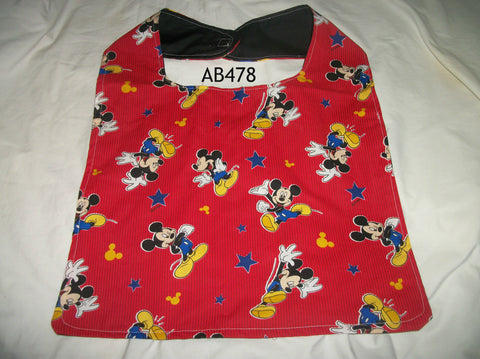 Cartoon Mouse Bib AB478