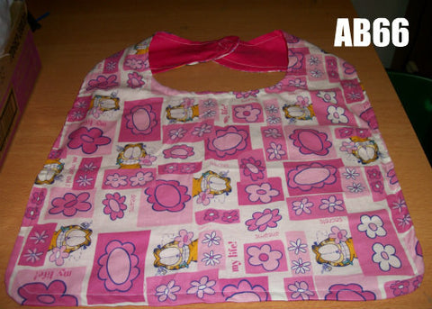 "80's Cartoon Cat Bib AB66 12""X16"" Clearance"