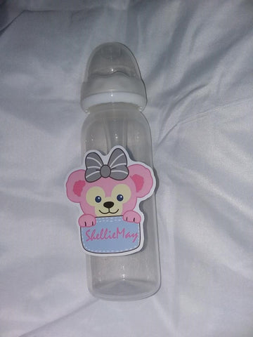 Bear 9oz Baby Bottle with ADULT Teat BB1711