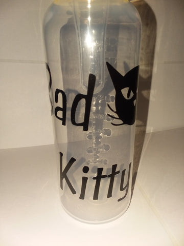 Bad Kitty 9oz Baby Bottle with ADULT Teat BB217
