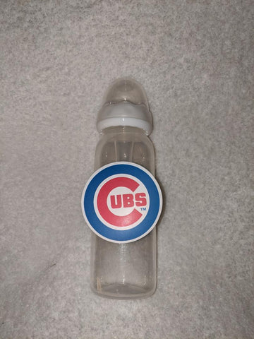 Cubs Baseball 9OZ BABY BOTTLE WITH ADULT TEAT BB2279