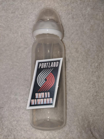 Portland Trail Blazers Basketball 9OZ BABY BOTTLE WITH ADULT TEAT BB2320